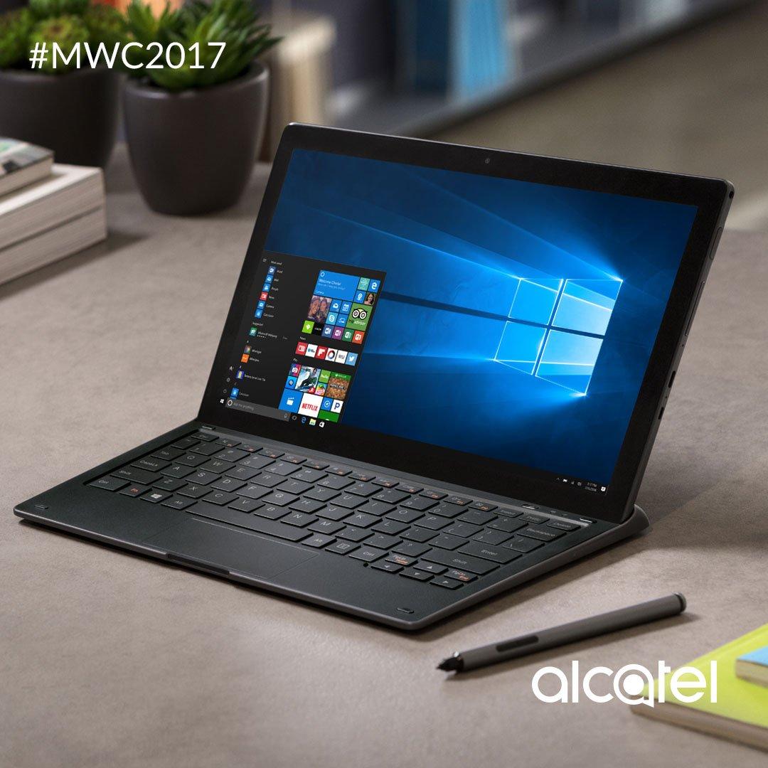Más que una tablet. Con 4G, Windows 10, sensor de huellas y más, Plus 12 es tu oficina móvil. #MWC2017 https://t.co/WMJXDy5zdj
