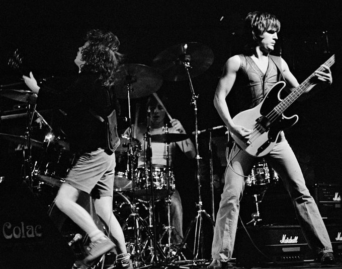 "BassPlayerNow ""Happy Birthday to early AC/DC bassist Mark Evans! acdc"