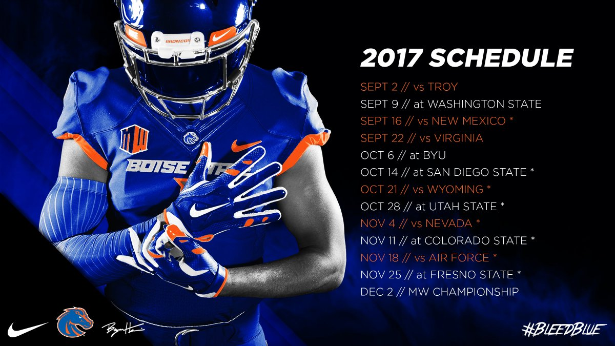Boise State Broncos On Twitter Have You Heard The 2017