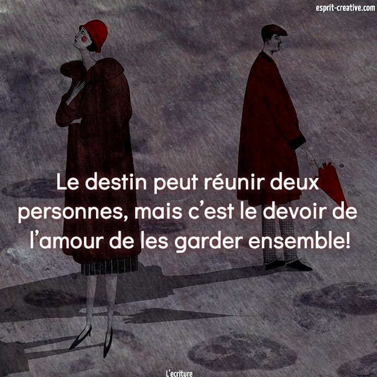 citation amour a deux