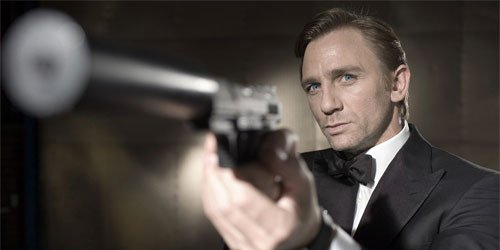 Happy Birthday to one of our top agents, Daniel Craig!