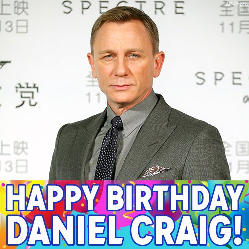 Happy Birthday to Skyfall and Casino Royale s Daniel Craig!
