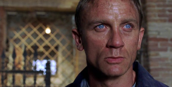 Happy Birthday to Craig, Daniel Craig!
