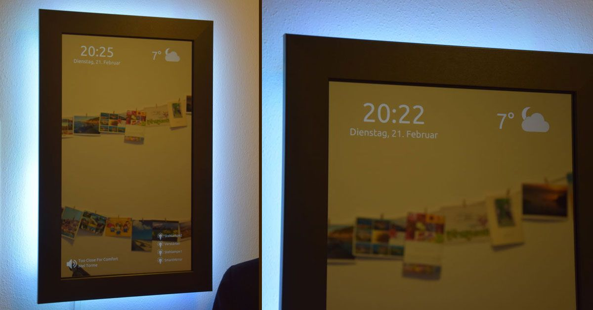 Instructables On Twitter Diy Smart Mirror Using Raspberrypi Https
