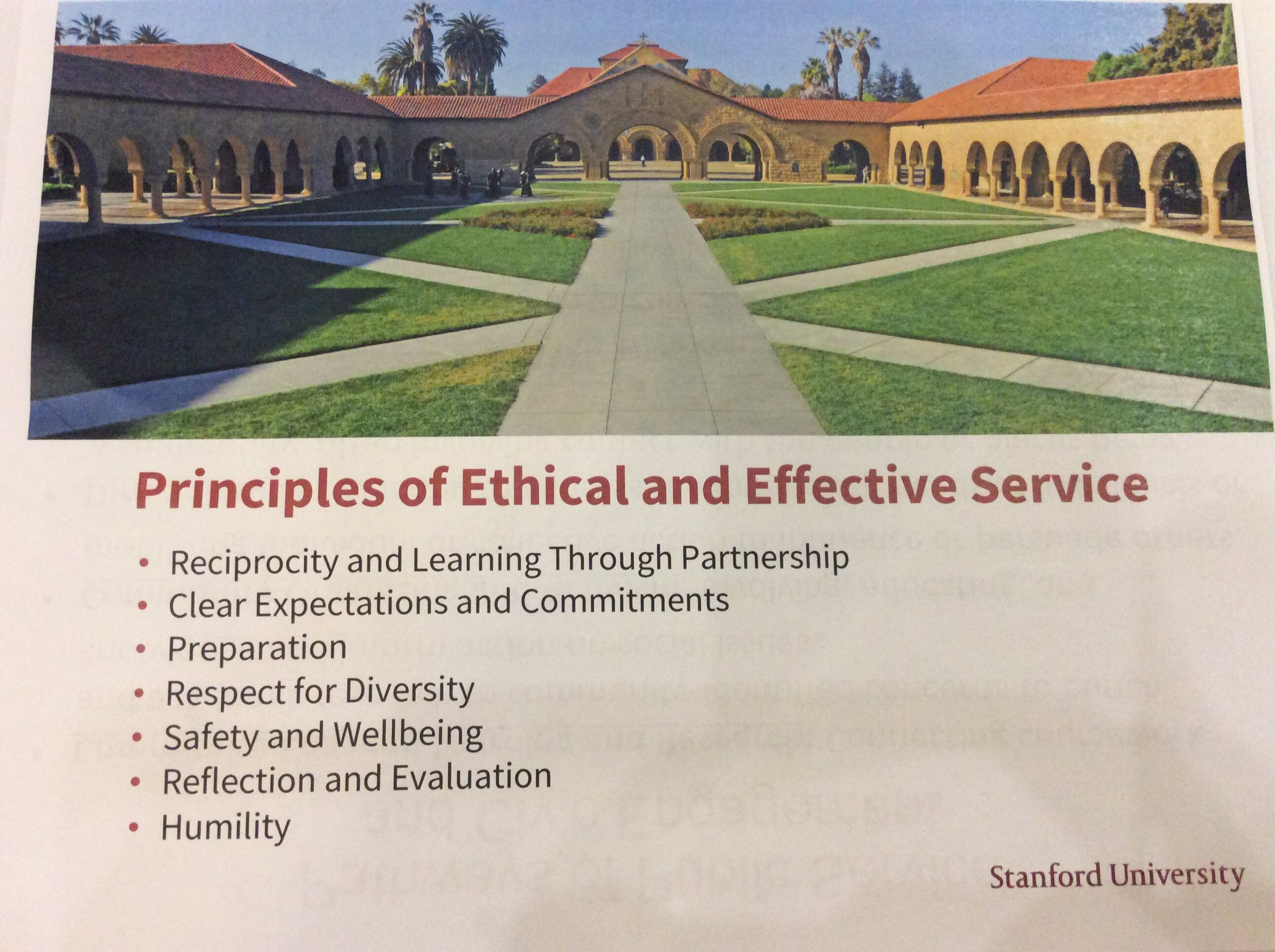 @Stanford, Thomas Schnuabelt: Effective service in the community requires training in ethics @AshokaU #Exchange2017 https://t.co/EAKB9pbyor
