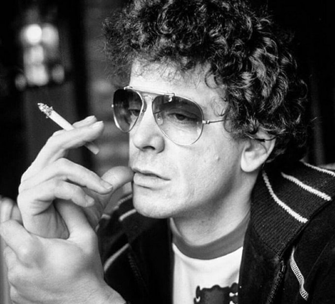 I almost forgot! Happy birthday to Lou Reed! He would\ve been 75 today