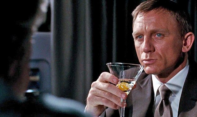 Happy Birthday, Daniel Craig! Celebrate shaken, not stirred.