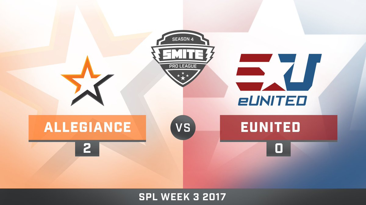 Team Allegiance vs eUnited