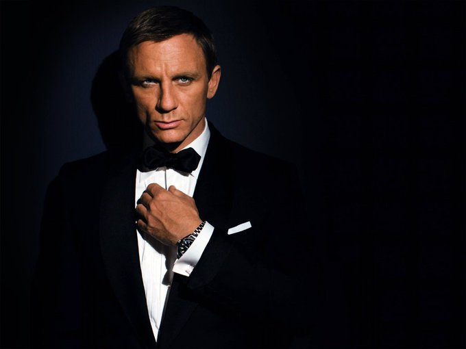 Happy birthday, Daniel Craig aka James Bond