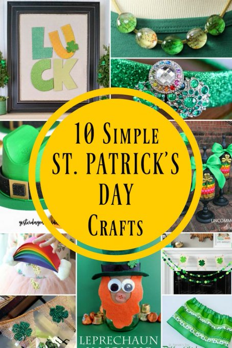 10 Simple St. Patrick's Day Crafts for a Pinch Proof Holiday