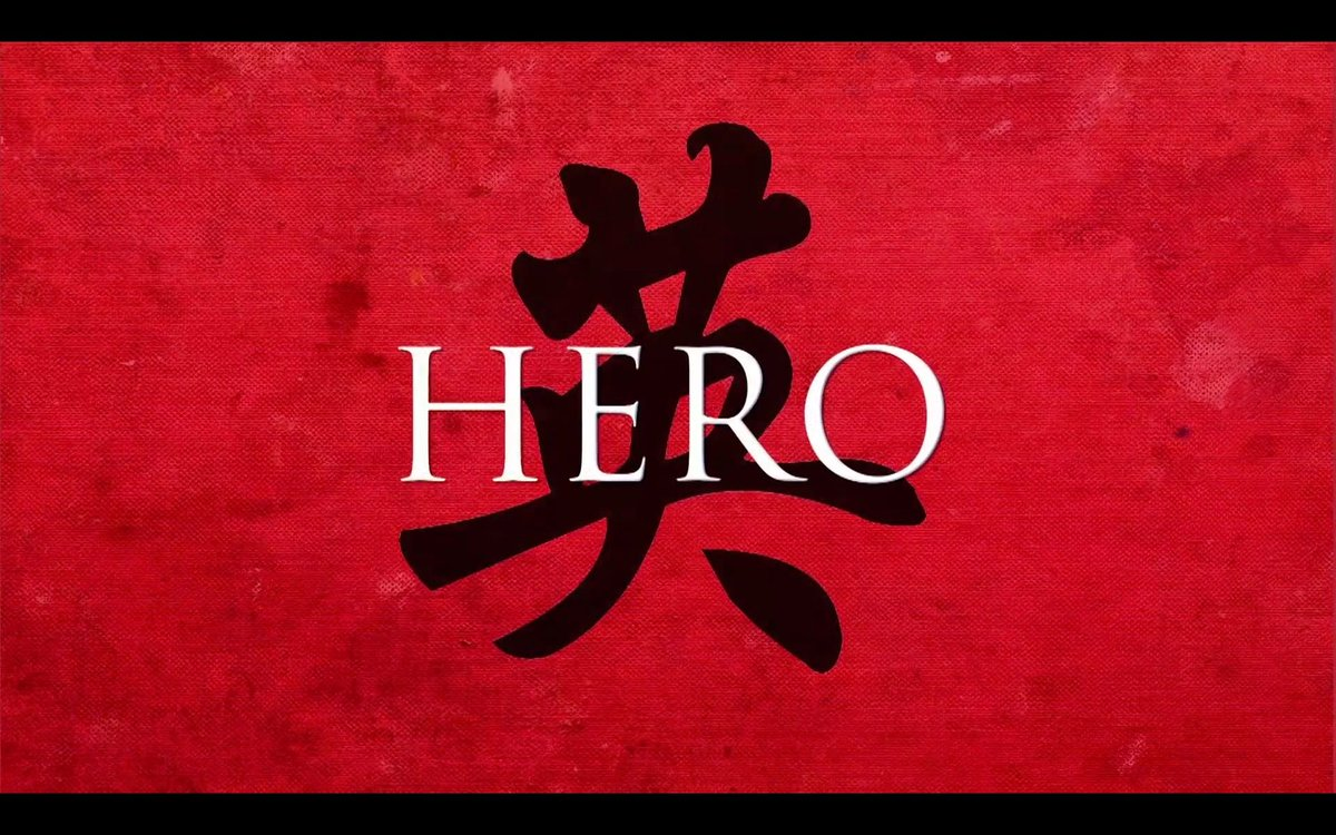 The Next Reel On Twitter Hero 2002 D Zhang Yimou Jetli Official Tonyleung Maggiecheung Zhangziyi Donnieyenct Chendaoming Https T Co Amdu8vfqni Https T Co J7z78j9djw