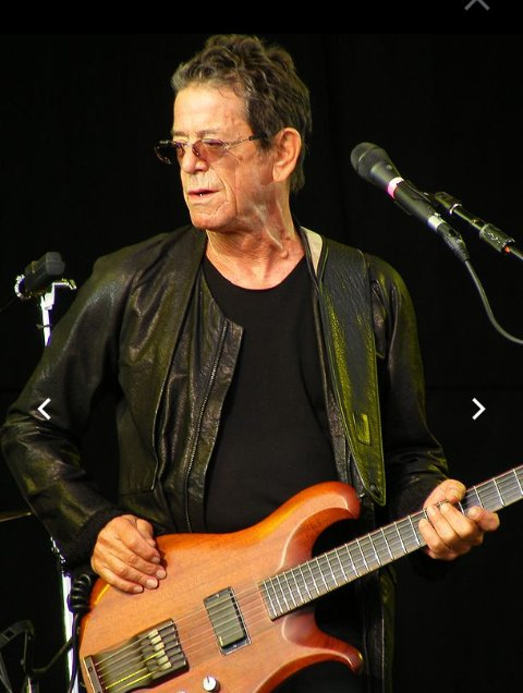 Happy 75th birthday to Mr. LOU REED.