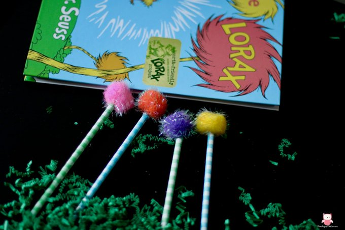 The Lorax Truffula Trees