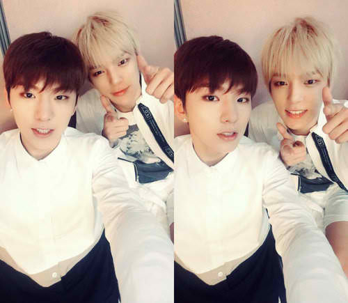 The sister in law and daughter in law #monstaxray #minhyuk #kihyun<br>http://pic.twitter.com/qAegMObB94
