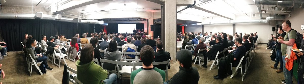 #WebGL, #glTF, #WebVR Meetup @GDC2017 Browsers, beer and polygons! What more could you want?
