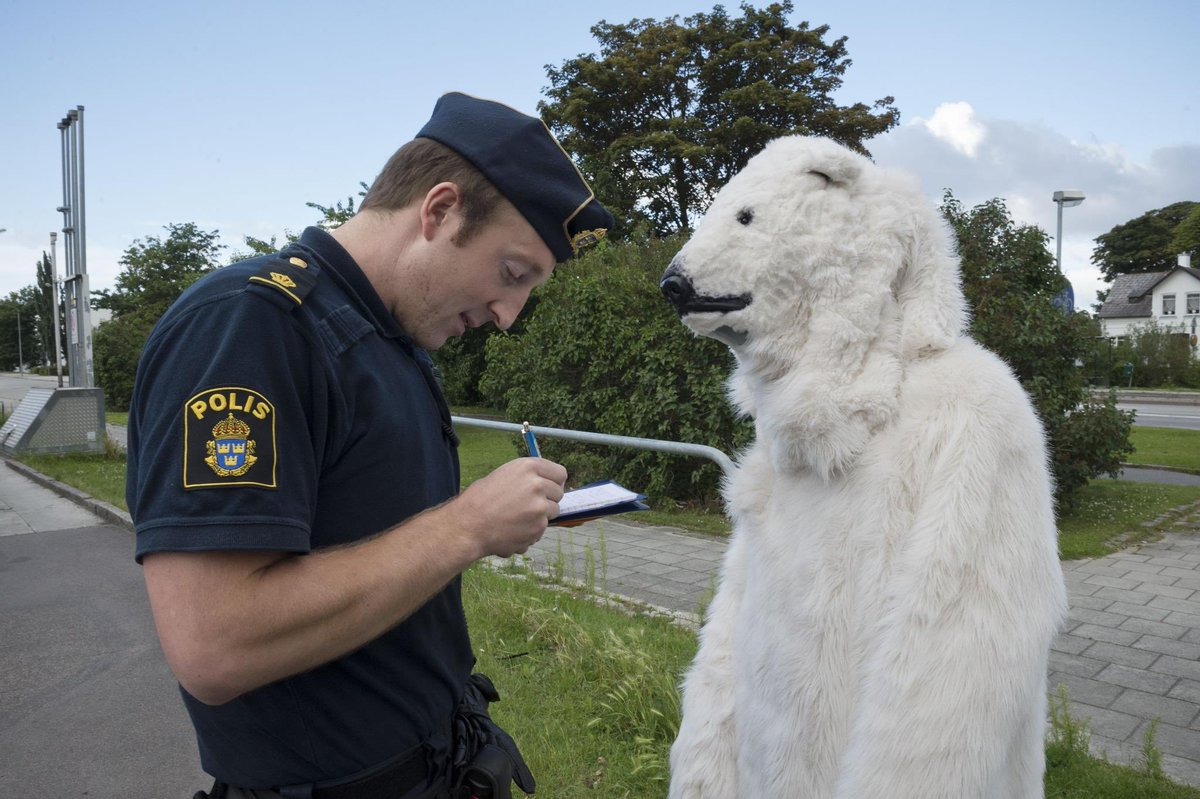 One of the suspects of the incident #LastNightInSweden arrested by pol...