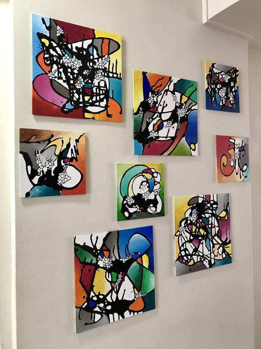 HARLEQUIN SERIES #art #painting #HarleyQuinn #funky #modernart #ContemporaryArt #boldart #<br>http://pic.twitter.com/Jq7kJWorfq