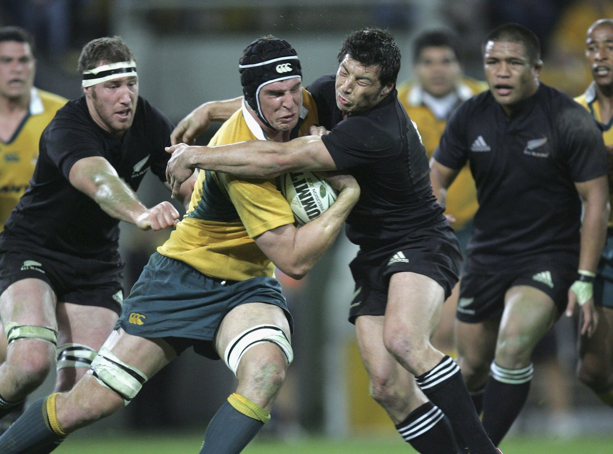 The #AllBlacks join the rugby family in mourning the passing of former...