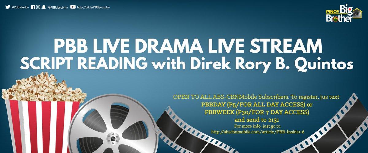 Tumutok na sa livestream para sa first script reading ng Housemates wi...