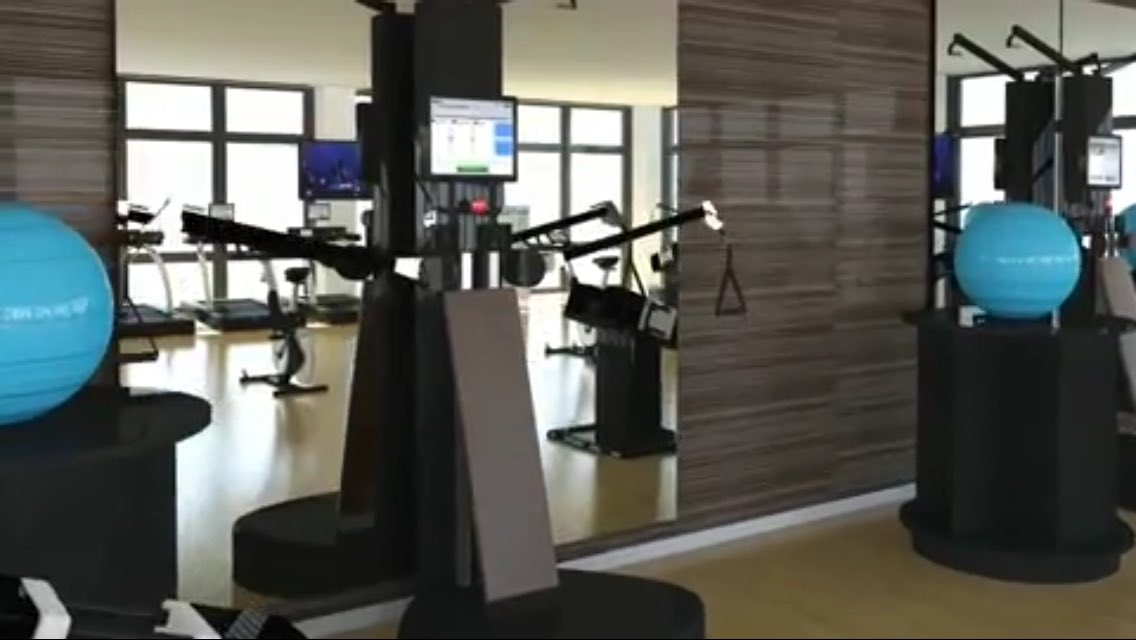 Gym of the Future with the Internet of Things