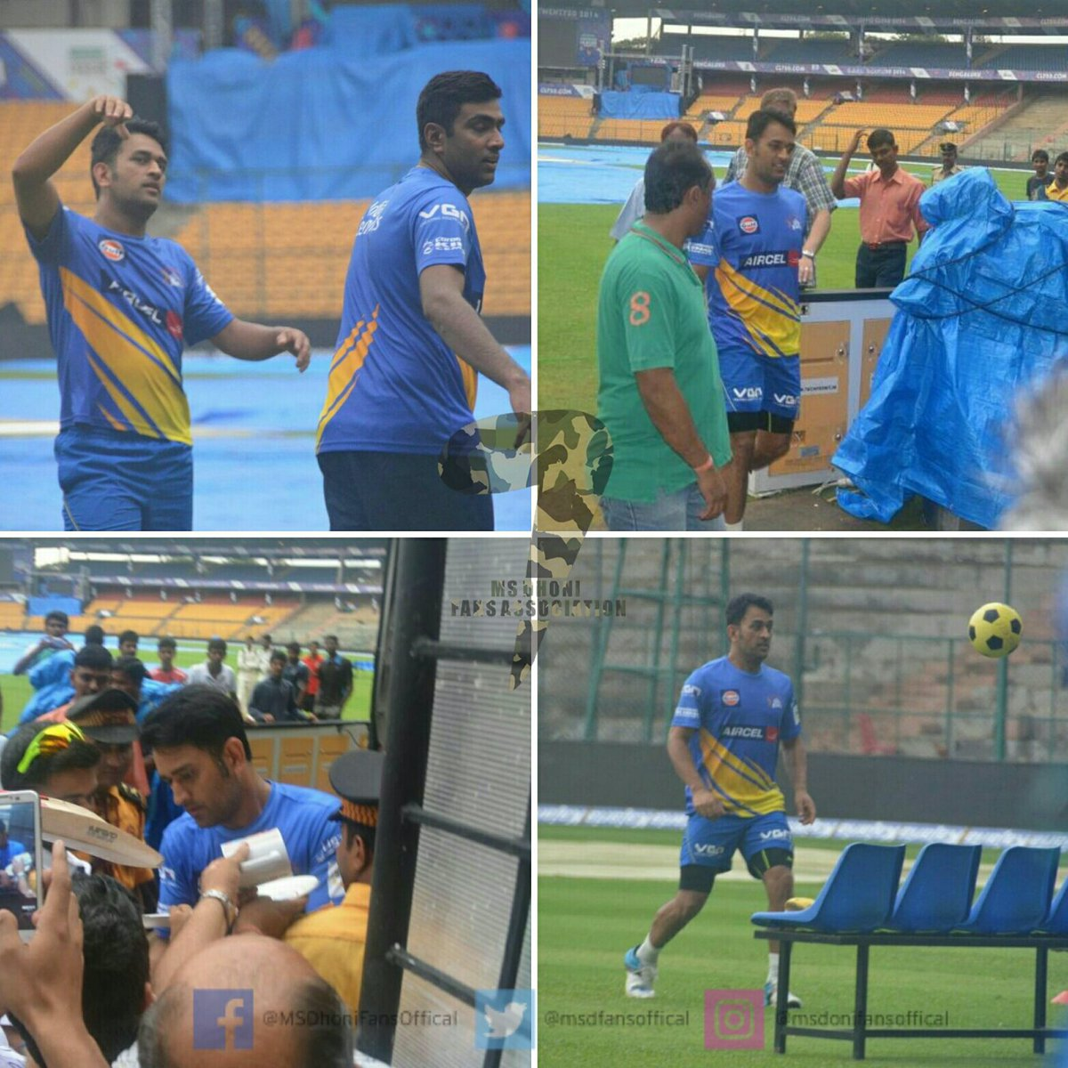 Throwback to #CSK times. Practice. #CaptainCool #Dhoni #Ashwin #Football  @ChennaiIPL @msdhoni @ashwinravi99<br>http://pic.twitter.com/OT7npKyiMl