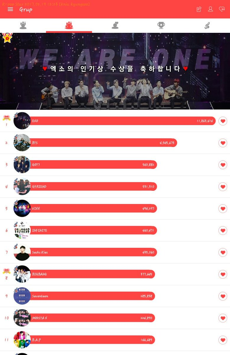 Support EXO in gaon music,, fighting exo-L #Fighting  #TeamEXO #Kyungsoo #Suho #Exo we Are One<br>http://pic.twitter.com/DxfCM0aHZP