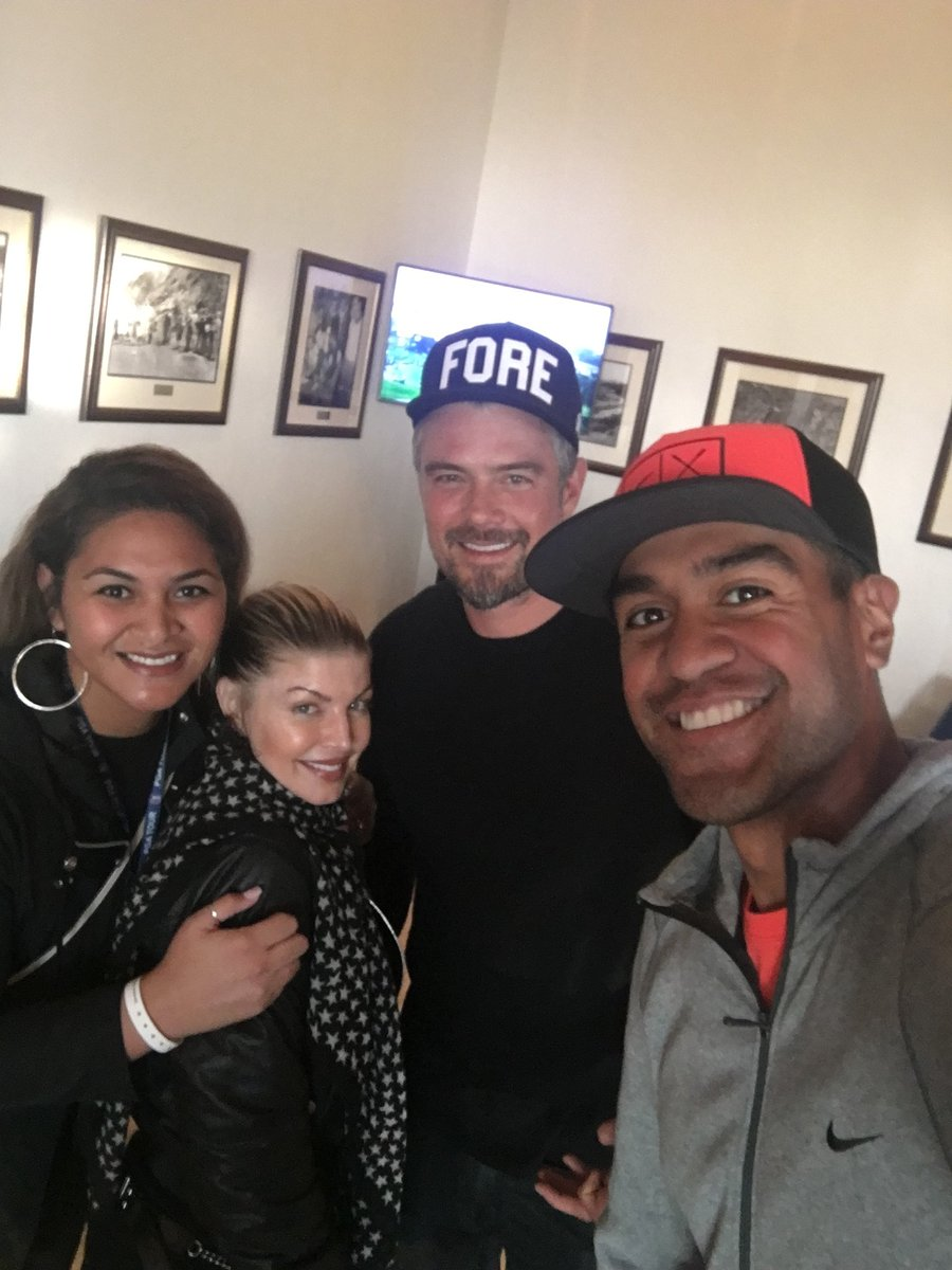 Good times with the Finau's today at Riviera CC. https://t.co/ikAZpyeI...