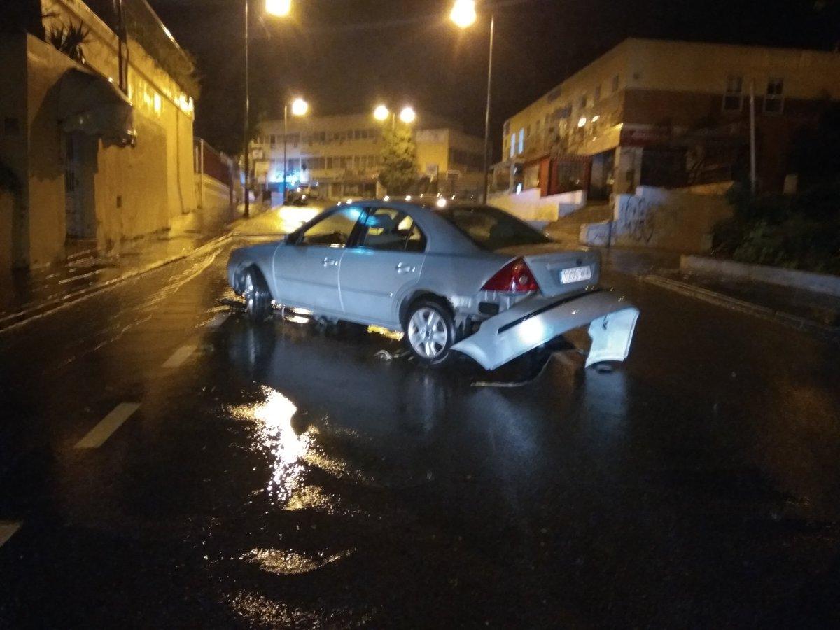 Más imágenes de los daños provocados por la tormenta en #Malaga #tromb...