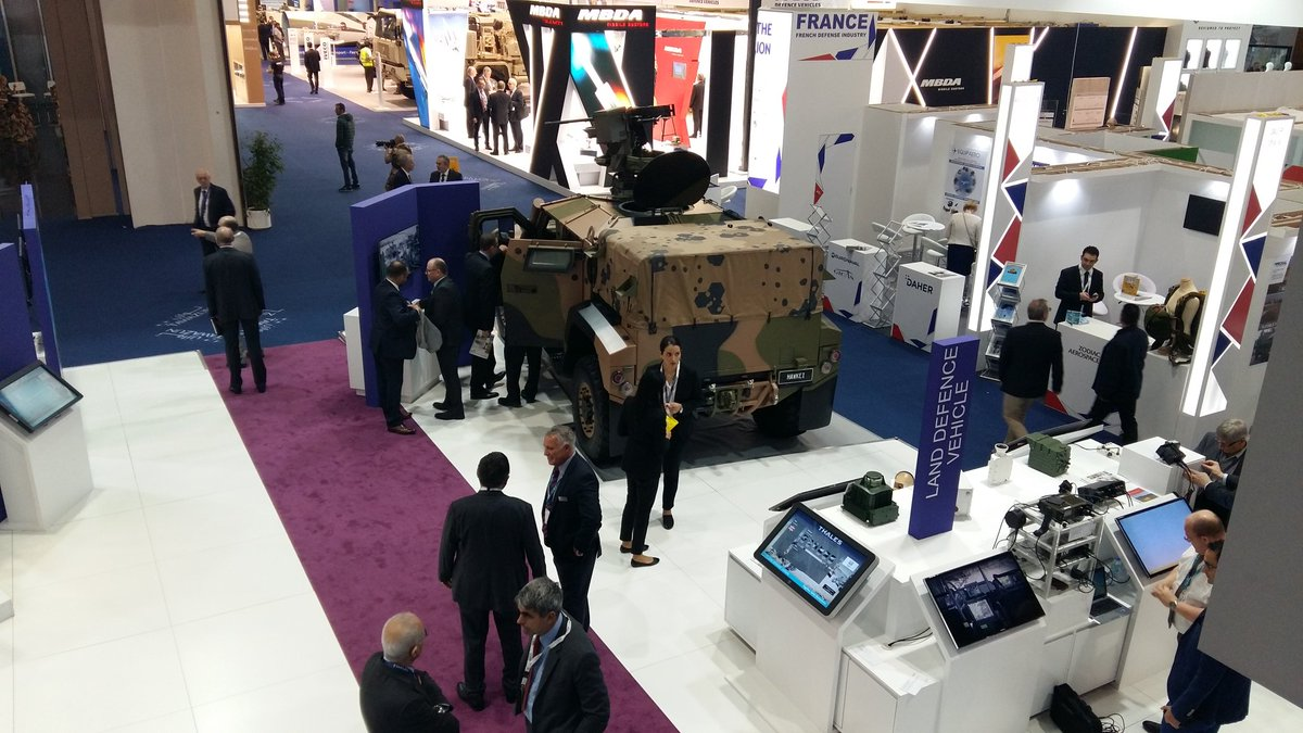 We are ready to welcome you #IDEX2017 - visit our #thales stand 08-A08...
