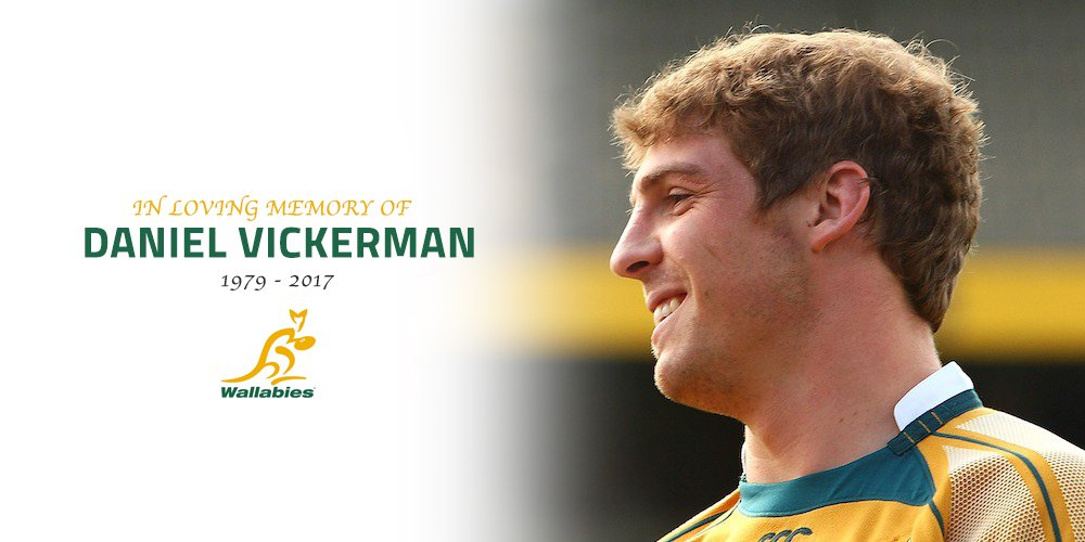 Rest in Peace, Dan Vickerman. 63 Tests, three Rugby World Cups, infini...
