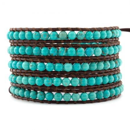 #bloggers #lbloggers #fbloggers #bbloggers Hot Sale Natural Turquoise Blue Be ...  https:// linked2fashion.com/hot-sale-natur al-turquoise-blue-beads-on-5-wrap-original-leather-bracelet-for-women-unisex-men-jewery-fast-drop-shipping/ &nbsp; … <br>http://pic.twitter.com/4eA1IInNxu