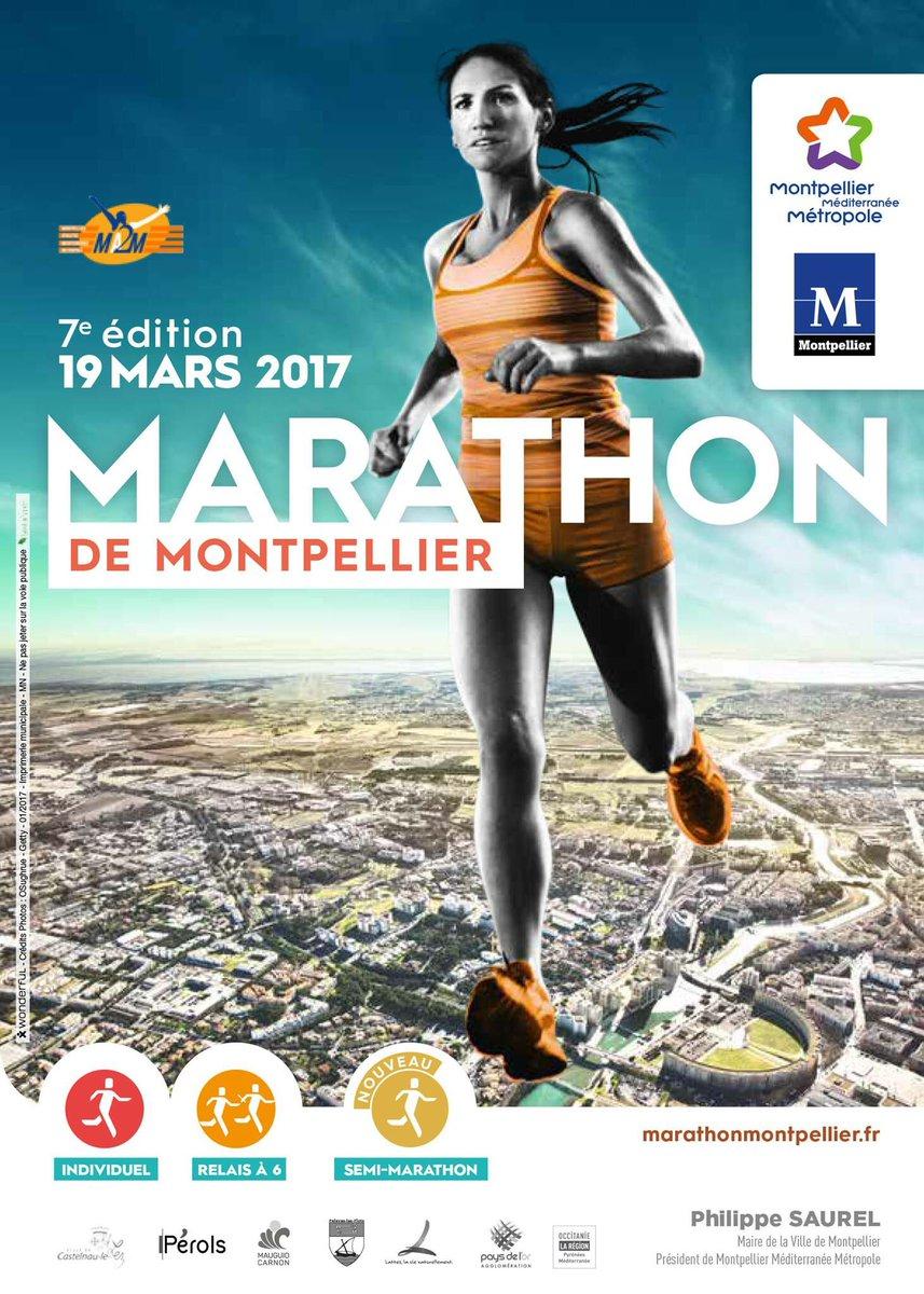J-30 pour 7e édition #Marathon de #Montpellier le 19 mars 2017 ! Un nouveau parcours est proposé aux coureurs. @Montpellier3m @montpellier_<br>http://pic.twitter.com/tZQC50aHPO