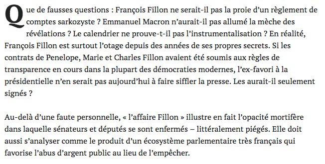 #transparence Au-delà du cas #Fillon, récit de 6 ans d&#39;enquêtes dans les coulisses du parlement. Une guerre d&#39;usure  https://www. mediapart.fr/journal/france /190217/transparence-l-entetement-mortifere-des-parlementaires &nbsp; … <br>http://pic.twitter.com/rx3j5DwIk3