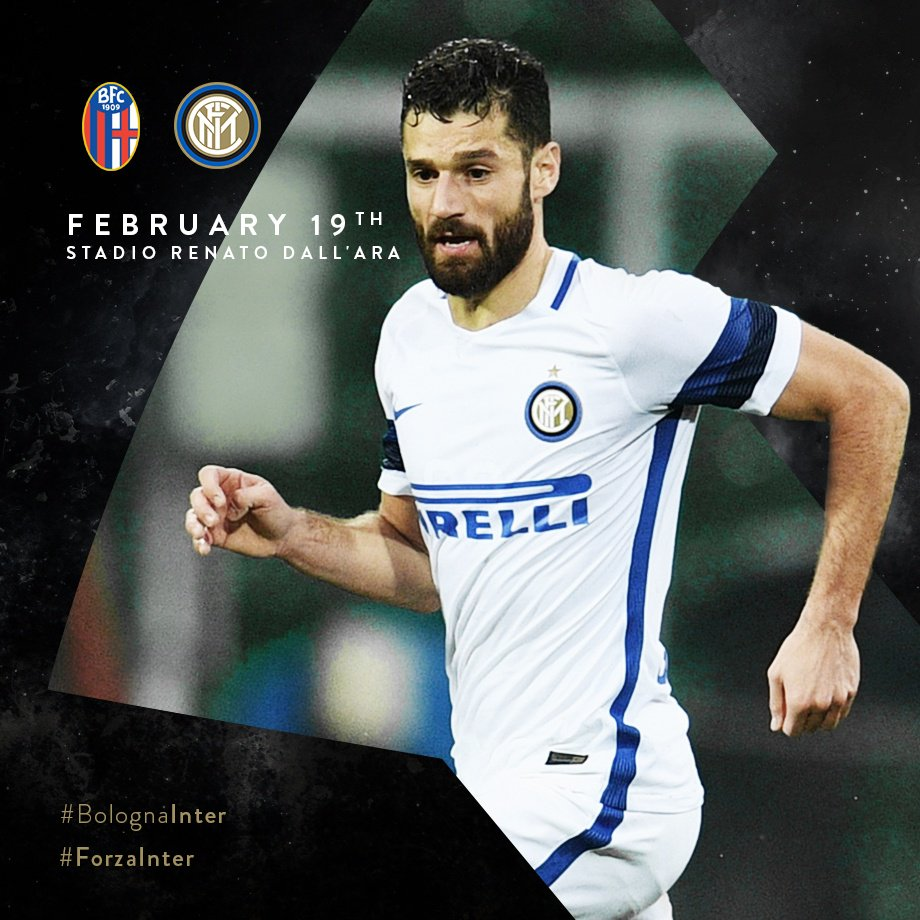 Everything is set for today's lunch-time kick-off - #BolognaInter! #Fo...