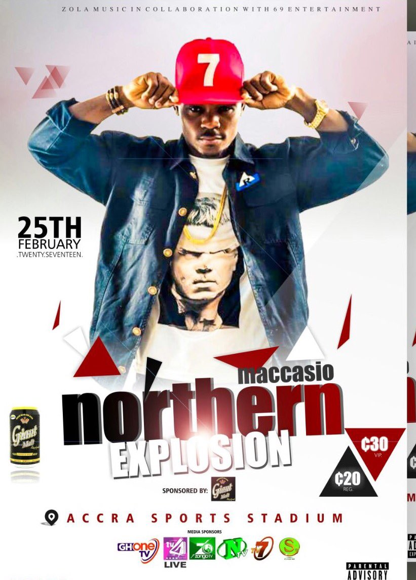 6days to go #northern explosion live concert at the Accra sports stadium <br>http://pic.twitter.com/IMGZyqpC0M