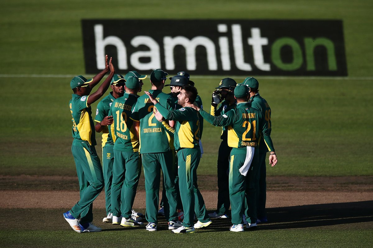 THAT WAS CLOSE! The Proteas did just enough to claim a 4-wicket win ov...