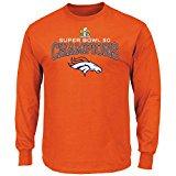 Denver Broncos Super Bowl 50 Champs Champions Choice Orange Long... -  http:// amzn.to/2g0W5iD  &nbsp;   #SB50 #NFL #SuperBowl <br>http://pic.twitter.com/UFJT3bfXkQ