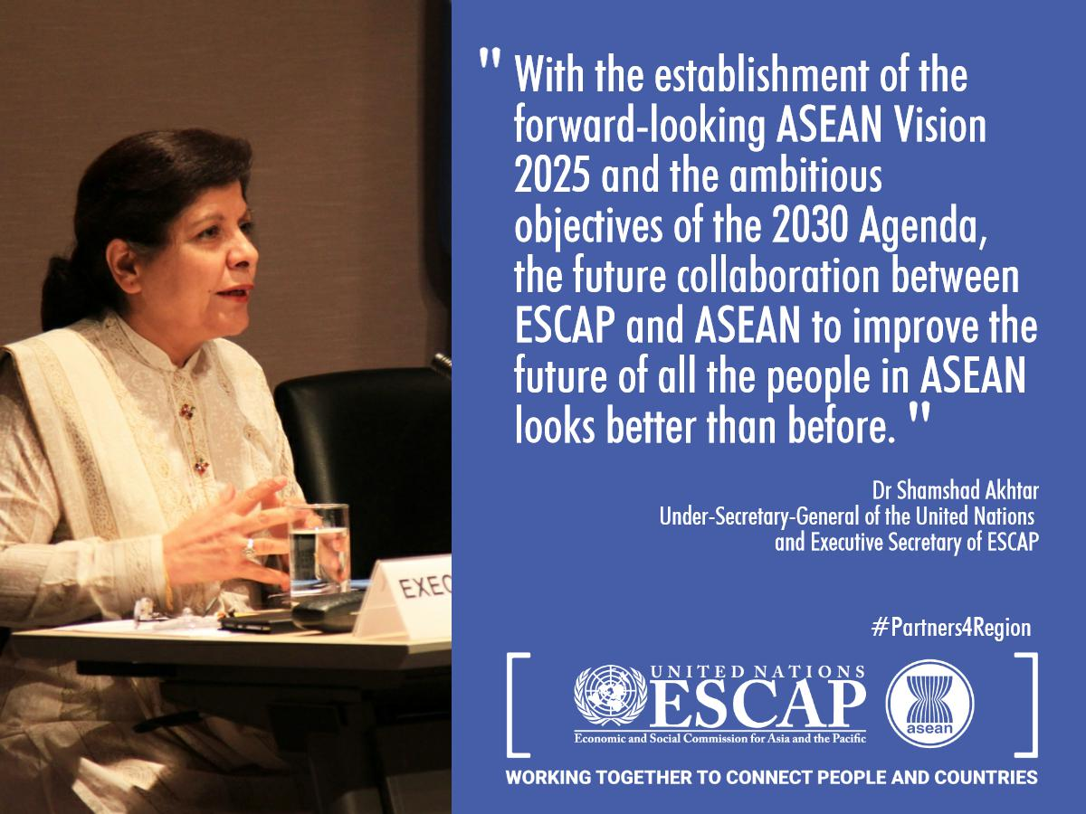The #2030Agenda & #ASEAN2025 can complement each other to benefit the region, shares Dr Akhtar in her op-ed: https://t.co/l2U2S0jw7d https://t.co/DpGK4og93k