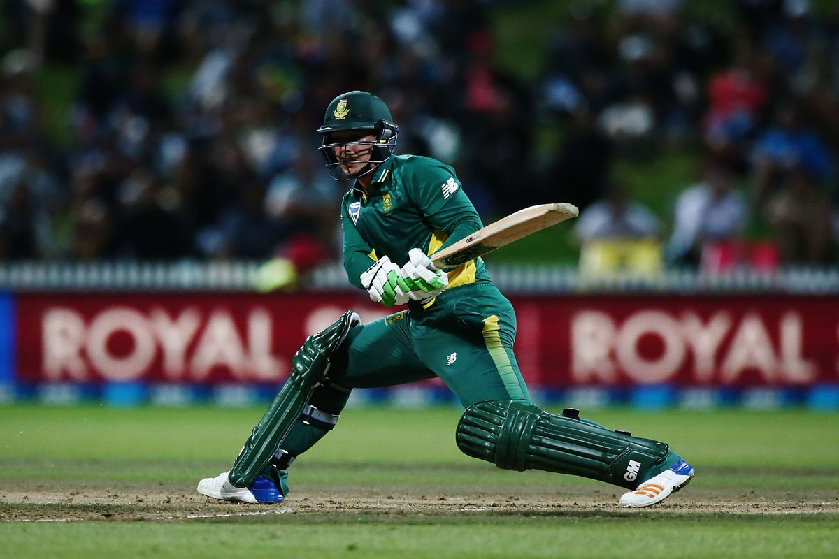 Congratulations Man of the Match @QuinnydeKock69. #ProteaFire #NZvSA h...