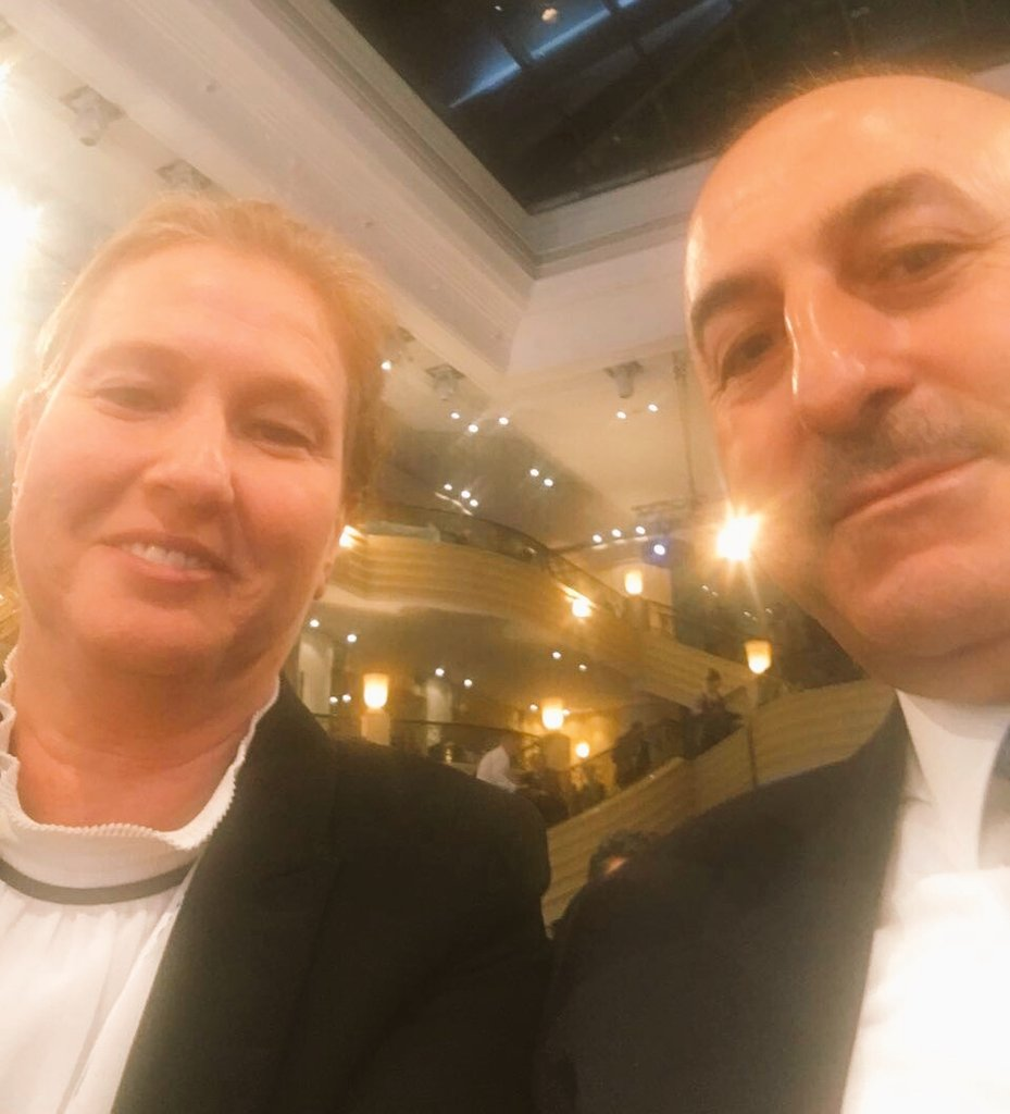 With FM of Turkey at Munich Security Conf. Discussing importance of normalization between Turkey and Israel #MSC2017 https://t.co/rmd1d4aql5