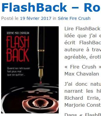Ma nouvelle #chronique sur #FlashBack un #newadult de @MaxRobyne sur mon blog  http:// lecturedefemme.fr/flashback-roby ne-max-chavalan/ &nbsp; …   @Librinova #Lecture #Romance  <br>http://pic.twitter.com/cVZq9DXiFA