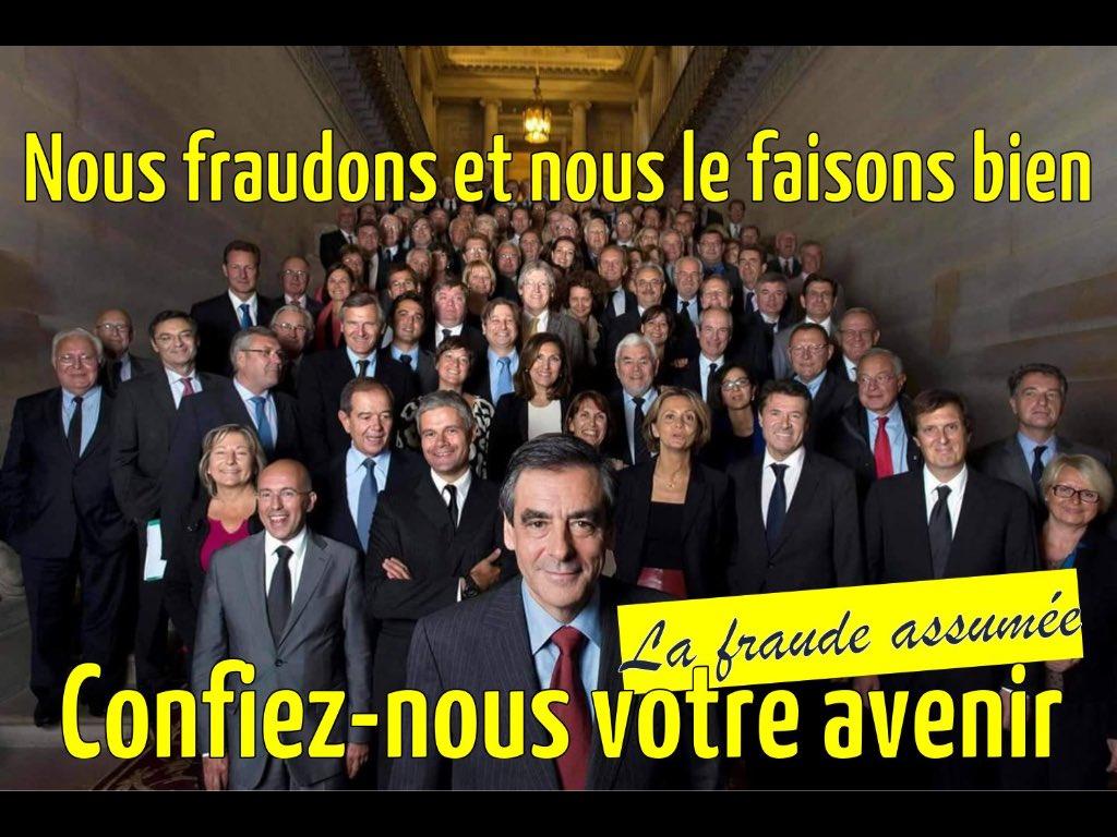 EXCLUSIF ! ou presque  La nouvelle affiche de campagne de #Fillon et #LR  #LesRipoublicains en tournée près de chez vous : fermez tout !<br>http://pic.twitter.com/3rbGYlpp03