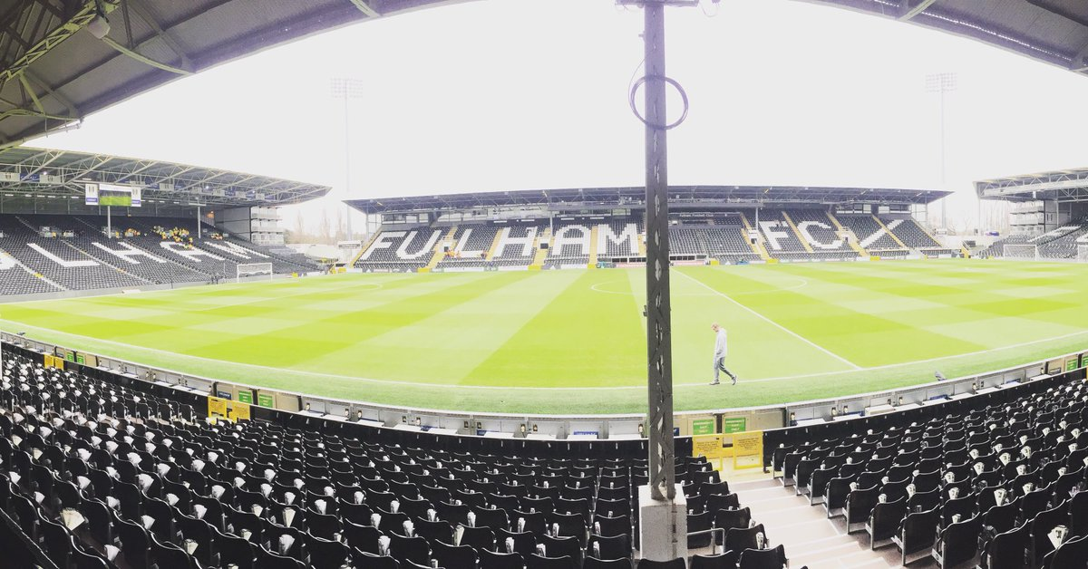 Welcome to Craven Cottage ahead of our @EmiratesFACup tie with @SpursO...
