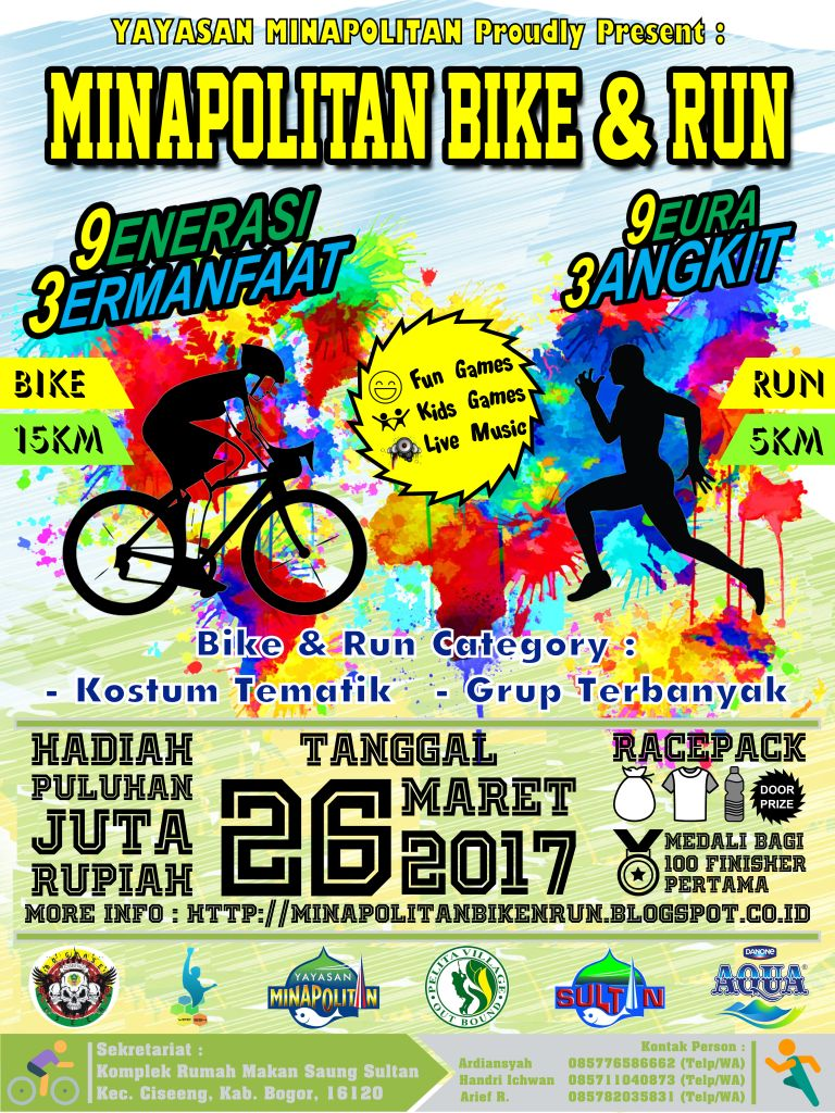 Minapolitan Bike & Run • 2017