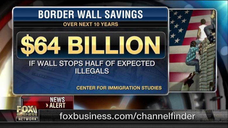 From #CenterForImmigrationStudies &quot;Could Save Americans ça. $64 Billion Over 10 Years&quot; @POTUS @realDonaldTrump  #BuildTheWall  <br>http://pic.twitter.com/SMYo3Wpa91