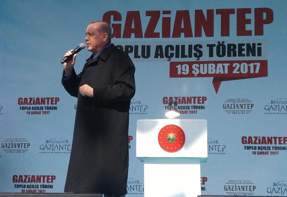 #Sondakika Cumhurbaşkanı'ndan 15 bin kişiye iş sözü #Gaziantep https:/...