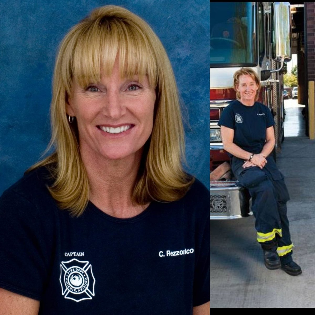 With deep sorrow we announce the passing of #PHXfire Cpt. Crystal Rezzonico on 2/18/17. R.I.P. Captain Rezzonico. https://t.co/2mctBlD7uO