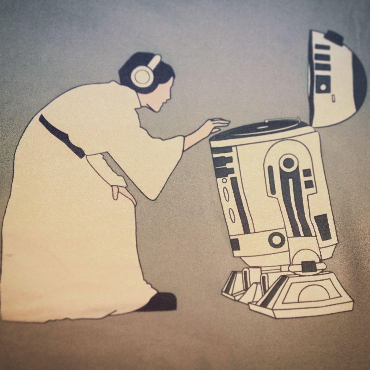 Le mix du dimanche soir... #StarWars #Tshirt #princessleia #R2D2 #dj #OOTD #Music<br>http://pic.twitter.com/nt1F5EJEvK