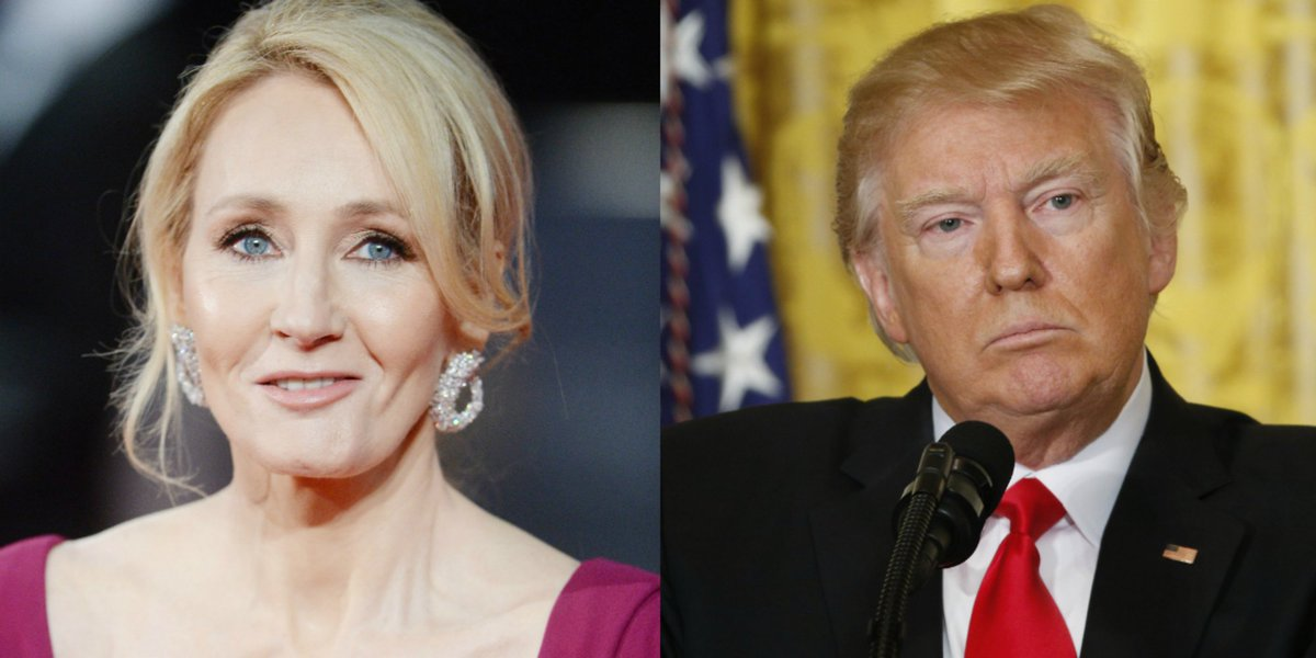 JK Rowling leads hilarious tributes to Trump's fabricated #SwedenIncid...