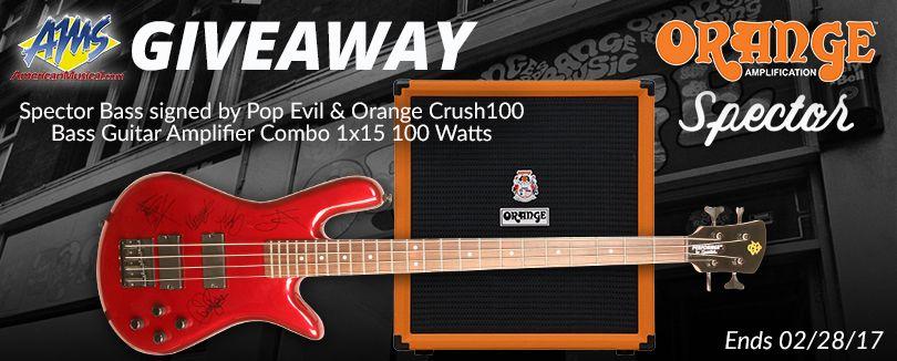 #Win the Pop Evil Spector #Bass #Guitar &amp; Orange Bass #Amp #Giveaway #RT #ReTweet #Guitarist #Musician   ENTER AT:   http:// woobox.com/wzacsy/iibm1l  &nbsp;  <br>http://pic.twitter.com/oTMkgMZCHp